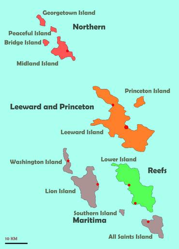 Islands of the Harvian Islands