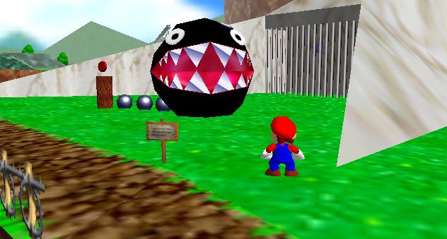 Shiny Girafarig   Chain Chomp (Super Mario Series) by ...