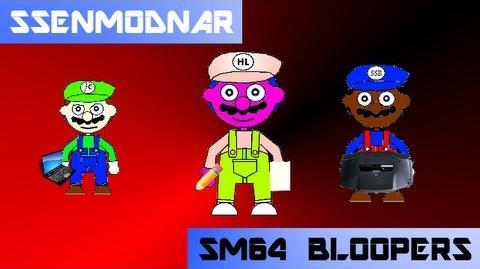 Super Mario 64 Bloopers ssenmodnar (real 1st blooper, I think )
