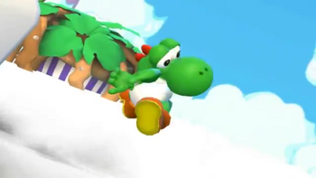 Yoshi spazzes out