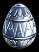Eggbadgesilver