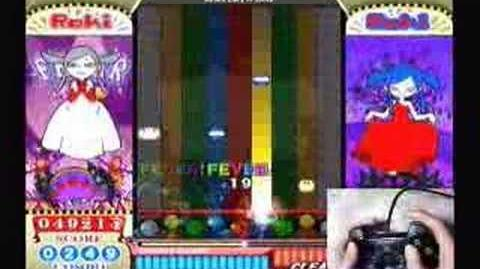 Pop'n music 13 ELEGOTHIC SABBAT EX ( Dual shock2 used play )