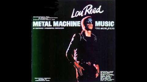 Lou Reed - Metal Machine Music (1975) (Full Album)