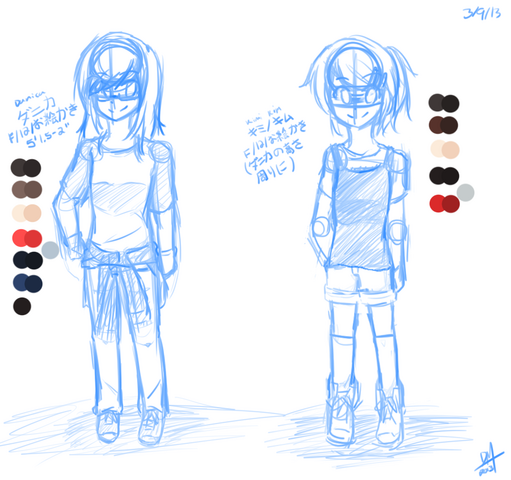 File:Danica and Kim ref sketch.png