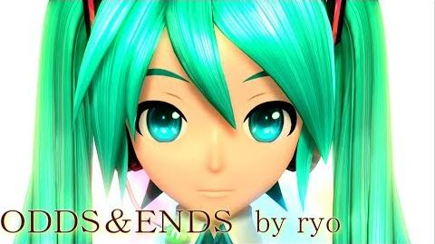 60fps Full風 ODDS&ENDS - Hatsune Miku 初音ミク Project DIVA Arcade English lyrics Romaji subtitles PDA