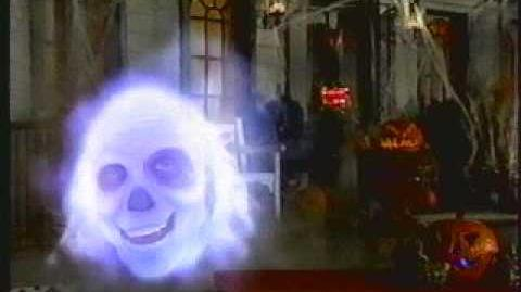 Disney Channel HA HA Haunted Halloween Ghost Host Heady 1 Mansion