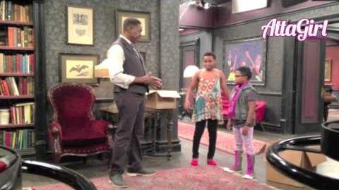 The Haunted Hathaways Set Visit with Ernie Hudson