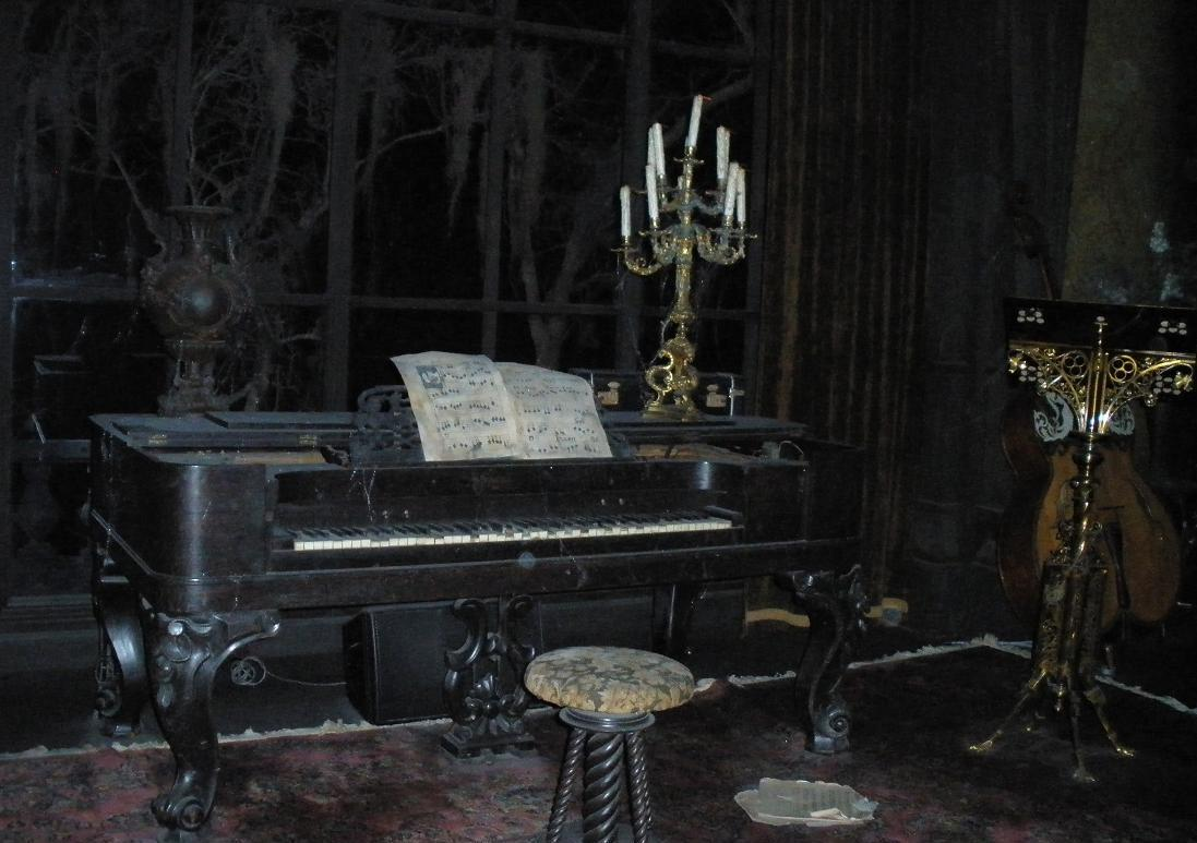 Music Room Haunted Mansion Wiki Fandom Powered By Wikia