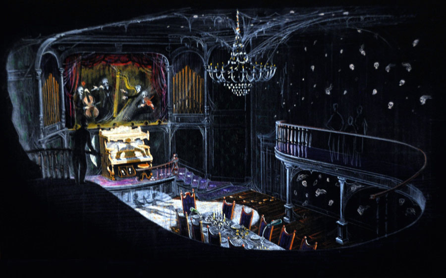 Grand Hall Haunted Mansion Wiki Fandom Powered By Wikia