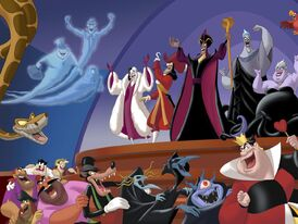 The Hitchhiking Ghosts with the Disney Villains