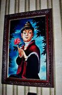 Abigale Patecleaver's portrait as seen in the Chicken Exit Hallway