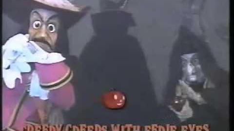 Disney Sing Along Songs - 1990 Disneyland Fun - Grim Grinning Ghosts