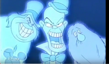 Hitchhiking Ghosts in the House of Mouse