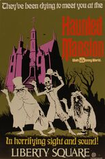 Haunted Mansion Tin Attraction Poster-1-