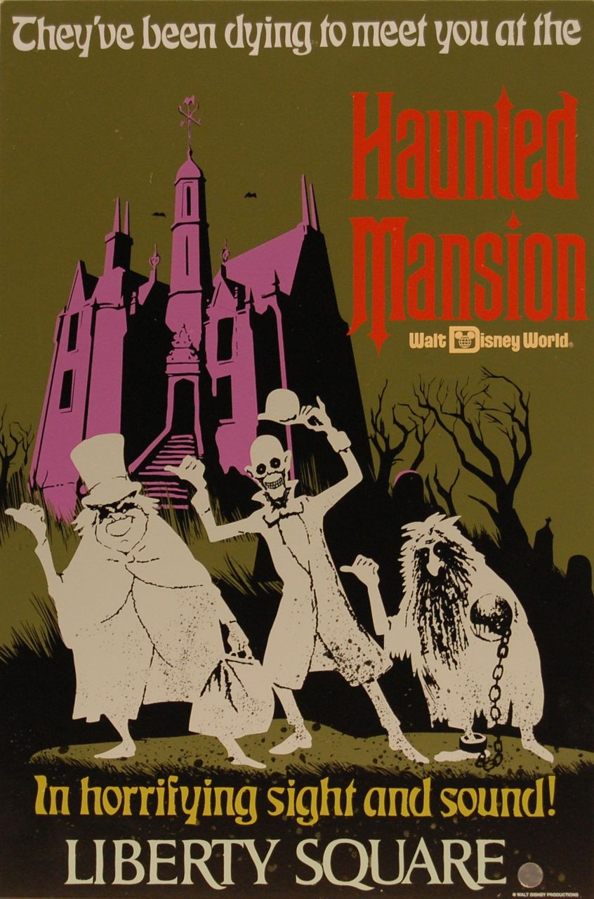 The Haunted Mansion Magic Kingdom Haunted Mansion Wiki Fandom