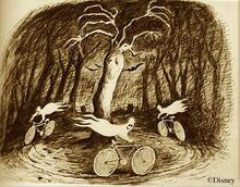 Marc Davis Bicycle Ghosts