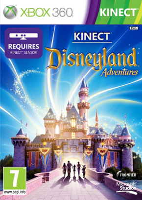 Kinect Disneyland Adventures cover