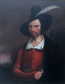 468px-Anonymous portrait of Jean Lafitte, early 19th century, Rosenberg Library, Galveston, Texas