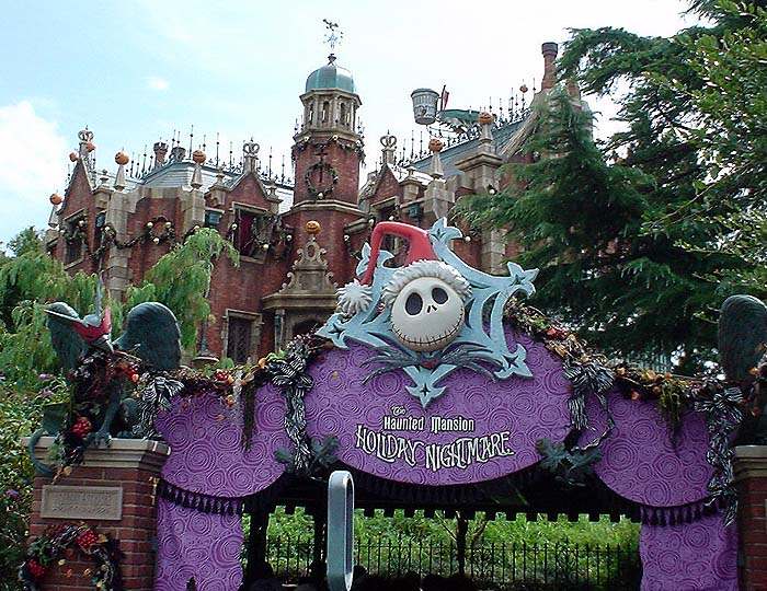 the haunted mansion holiday nightmare - Haunted Mansion Nightmare Before Christmas