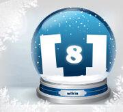 Schneekugel standard 8