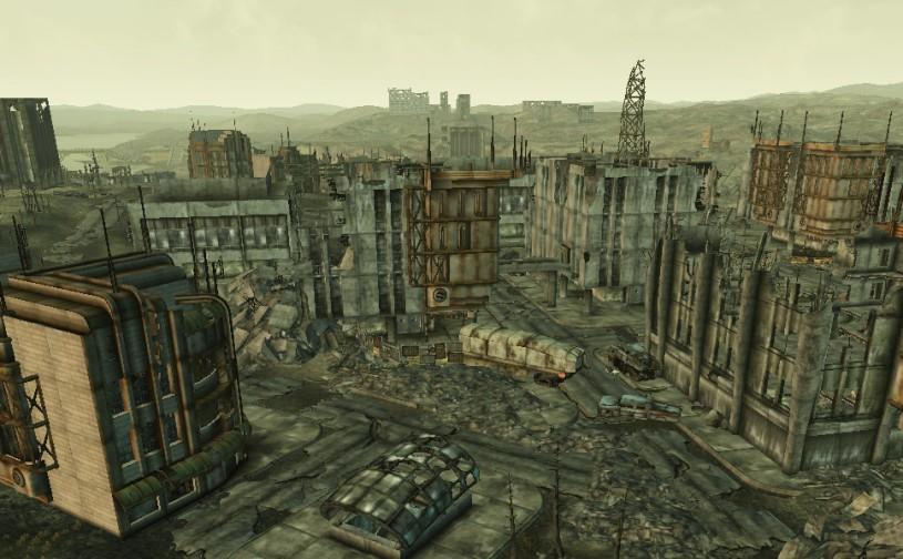 Ruinen von Bethesda.