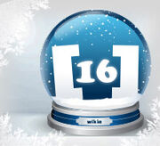 Schneekugel standard 16