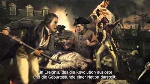 Assassin's Creed 3 - Offizieller Boston Tea Party Trailer DE