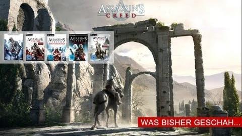 Ubisoft-TV präsentiert ASSASSIN'S CREED Was bisher geschah!