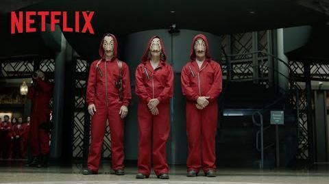 Haus des Geldes – Teil 2 Offizieller Trailer Netflix