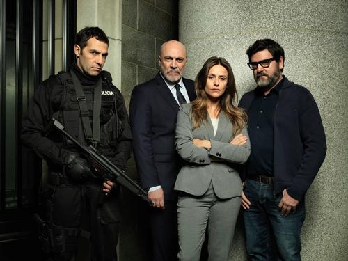 Haus des Geldes die Polizisten Raquel