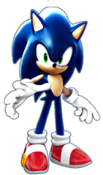 Wreck it ralph sonic the hedgehog by redshadowii-d5k3vwo