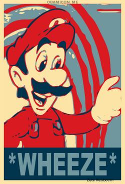 Vote Mama Luigi for wheeze by Zeta Neubourn
