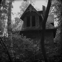 The dark creepy house