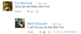 Cant let u do that star fox