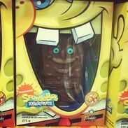 Scary spongebob choclate