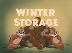 Winter Storage - title card