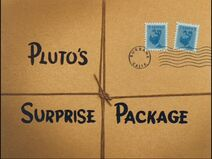 Pluto's Surprise Package Title Card