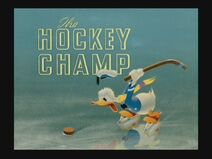 The Hockey Champ Title Card
