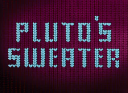 Pluto's Sweater - title card