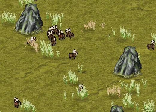 Mouflon heard