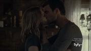 Nathan kisses Audrey