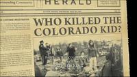Who killed the colorado kid title