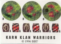 Decal Klan Warriors