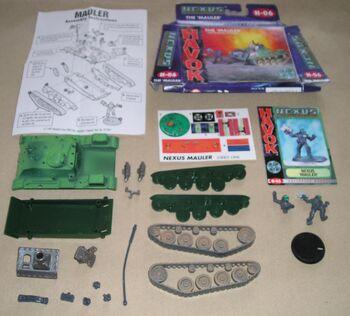 Nexus Mauler Box contents