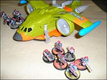 Droplifter with Assault Troops