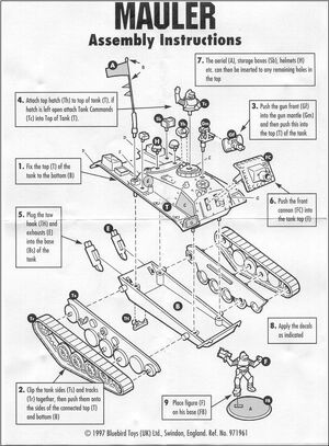 Assembly sheet Mauler