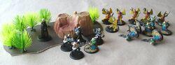 Skirmish with Borkians