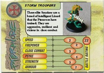 Pteravore Storm Trooper card Front