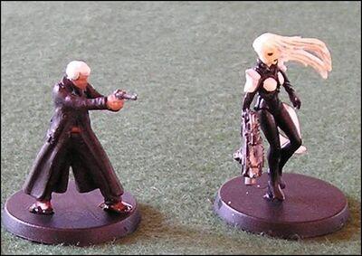 Krilishin and Krilisha