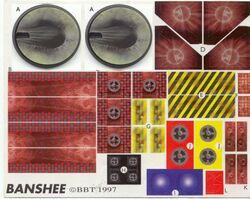 Banshee Decal Sheet
